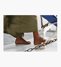 Feet from the NIle Photographic Print