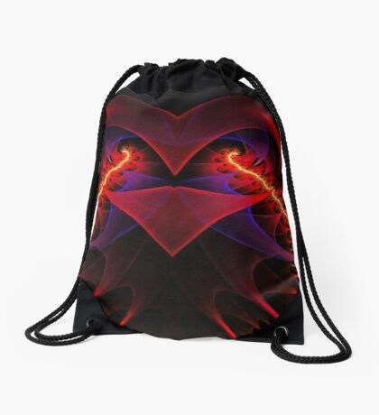 """The Catalyst"" (square) Drawstring Bag"