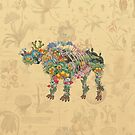 Ancient Growth: Dinosaur by Paul Summerfield