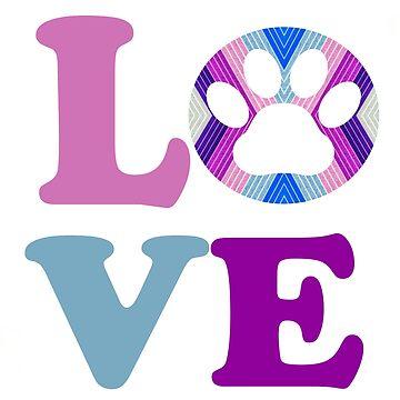 Love Animals Love Dogs Love Cats  by YuliyaR