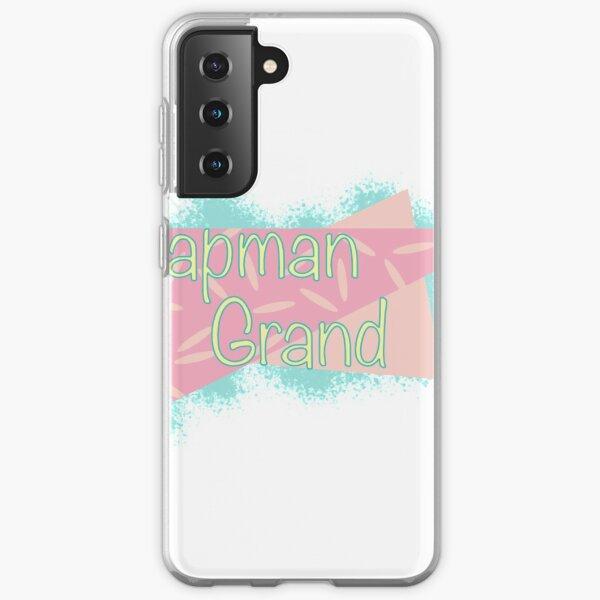 Chapman Grand Retro Sticker Samsung Galaxy Soft Case