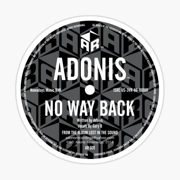 Adonis No Way Back Classic Sticker