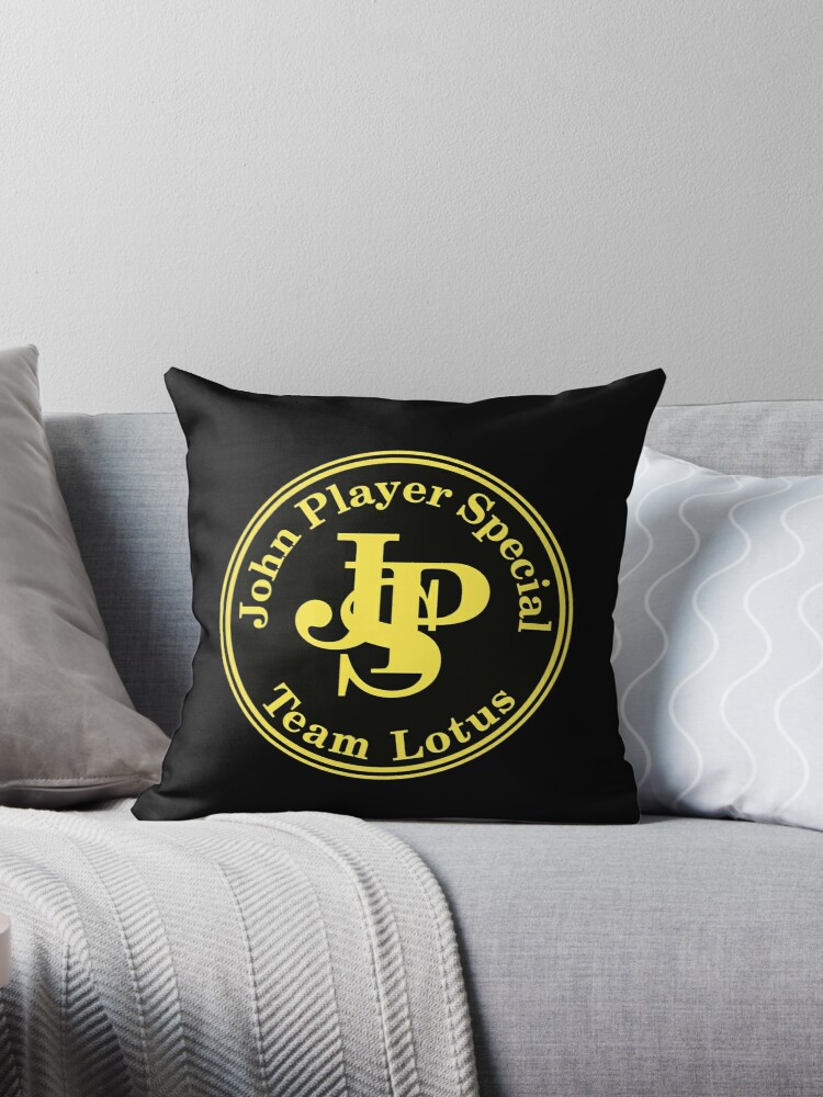 Quot John Player Special Team Lotus Quot Throw Pillows By