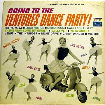 Ventures Dance Party, Scooter, Motor Scooter by Vintaged