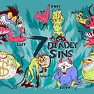 Seven Deadly Sins by Dave Stephens