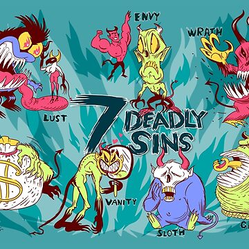 Seven Deadly Sins by Lines