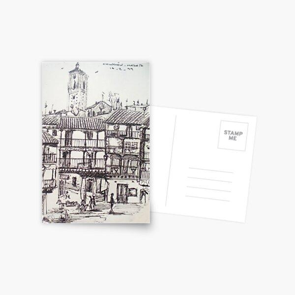Chinchon... Postcard