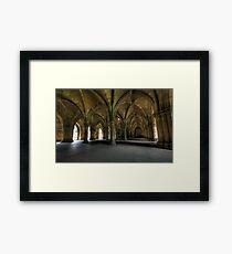 Glasgow University Cloisters Framed Print