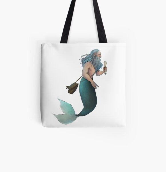 #Mermay Day 20 All Over Print Tote Bag
