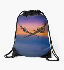 Dassault Flamant Drawstring Bag