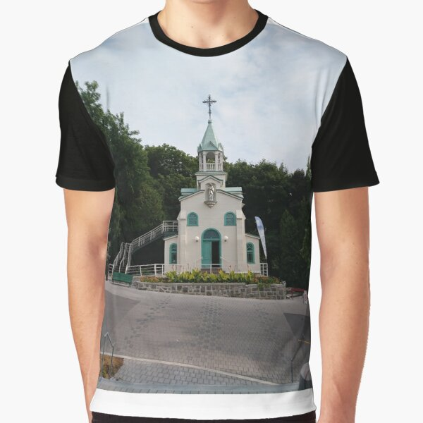 Montreal, #Montreal #City, #MontrealCity, #Canada, #buildings, #streets, #places, #views, #nature, #people, #tourists, #pedestrians, #architecture, #flowers, #monuments, #sculptures, #Cathedral Graphic T-Shirt