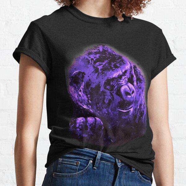 """Gorille """"Sagesse primitive"""" T-shirt classique"""