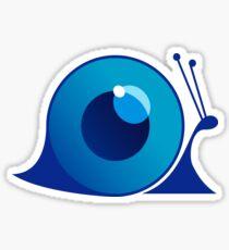 Blue Snail Sticker