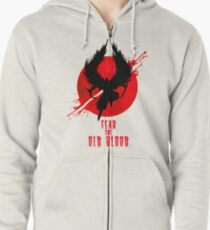 Fear the Old Blood Zipped Hoodie