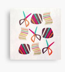 Rock Paper Scissors Canvas Print