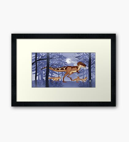 A Cold Day Out Framed Print