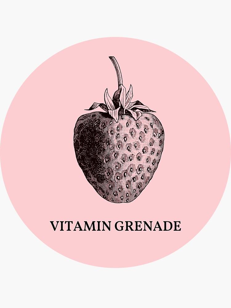 Strawberry, la camiseta de Vitamin Grenade de FreakC