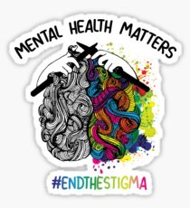 9a2712b62ff Mental Health Awareness Drawing Stickers | Redbubble