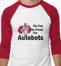 Transformers - The Few The Proud - Black Font T-Shirt