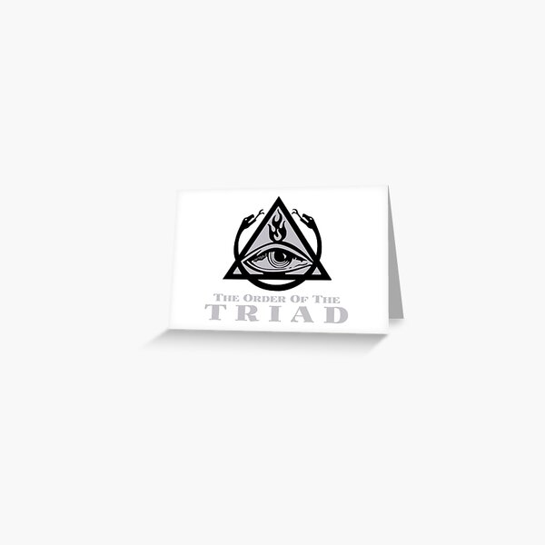 Order of the Triad Greeting Card