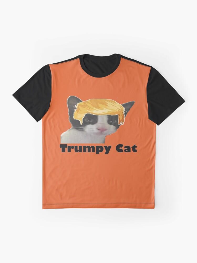 Alternate view of Trumpy Cat Graphic T-Shirt