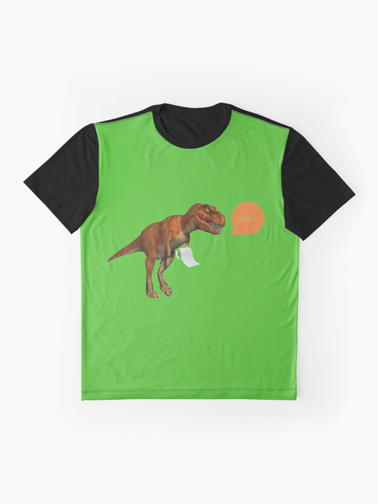 Alternate view of Dinosaurs Little Arms Graphic T-Shirt