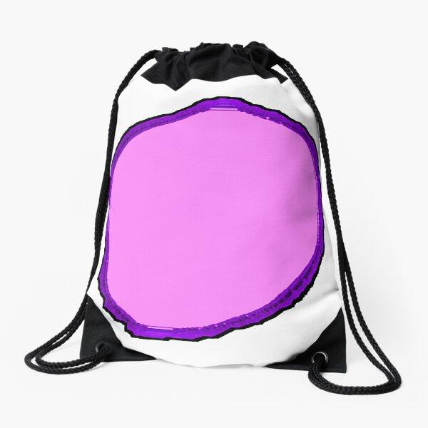 y8vis1t5l6tn5jrg #10 (Pink Tree Slice) Drawstring Bag