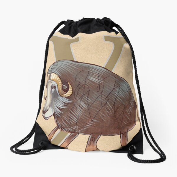 Y is for YAK Drawstring Bag