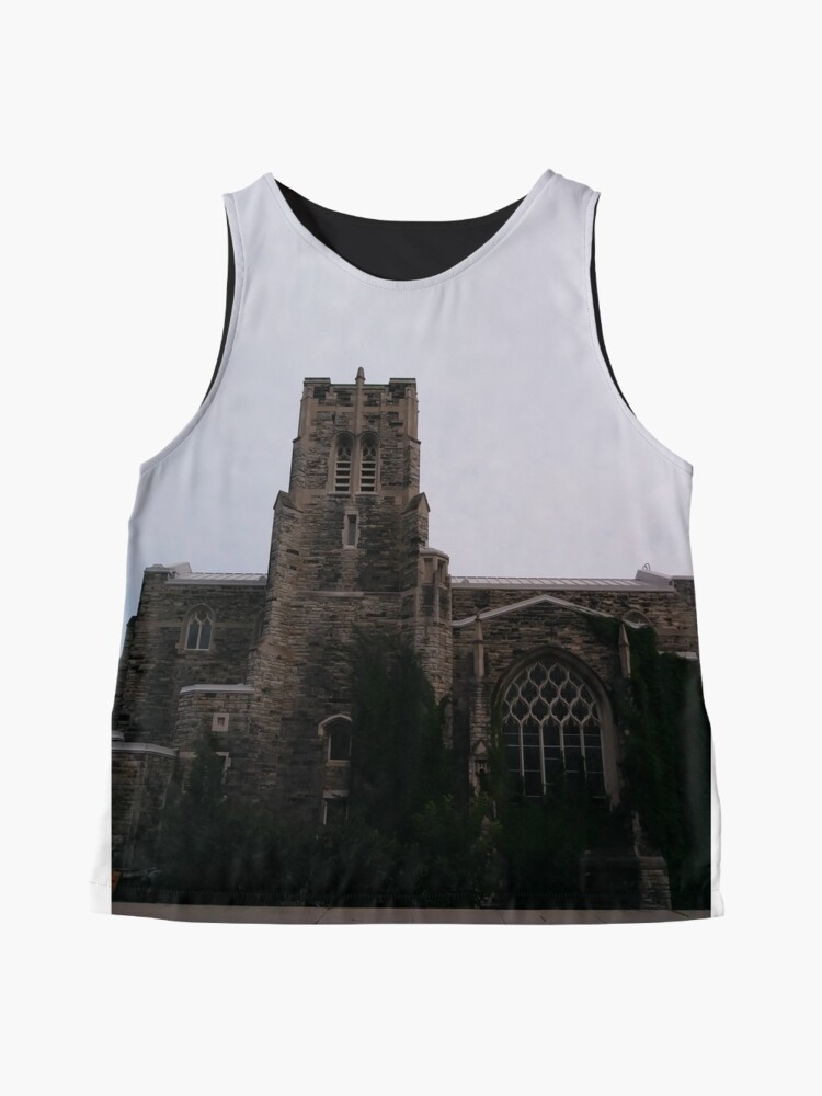 Alternate view of Montreal, #Montreal #City, #MontrealCity, #Canada, #buildings, #streets, #places, #views, #nature, #people, #tourists, #pedestrians, #architecture, #flowers, #monuments, #sculptures, #Cathedral Sleeveless Top