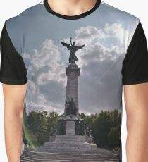Statue, Art form, #Statue, #ArtForm,  Montreal, #Montreal #City, #MontrealCity, #Canada, #places, #views, #nature, #tourists, #pedestrians, #architecture, #flowers, #monuments, #sculptures, #Cathedral Graphic T-Shirt