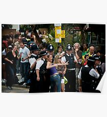 The Notting Hill Carnival - Bobbies - 2009 Poster