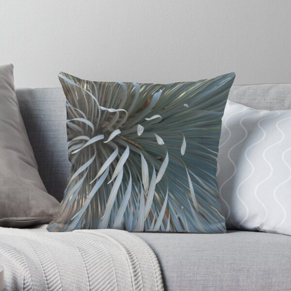 Growing grays Throw Pillow