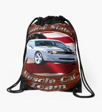 Dodge Challenger SRT8 Muscle Car Team Drawstring Bag