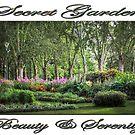Secret Garden, Beauty & Serenity by Ray Warren