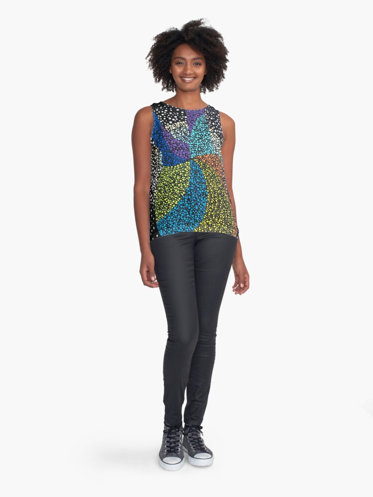 Alternate view of Let's Rock Sleeveless Top