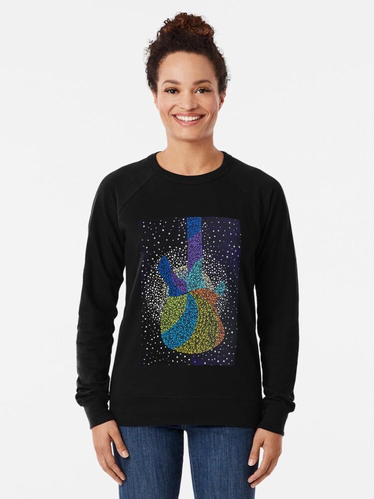 Alternate view of Let's Rock Lightweight Sweatshirt