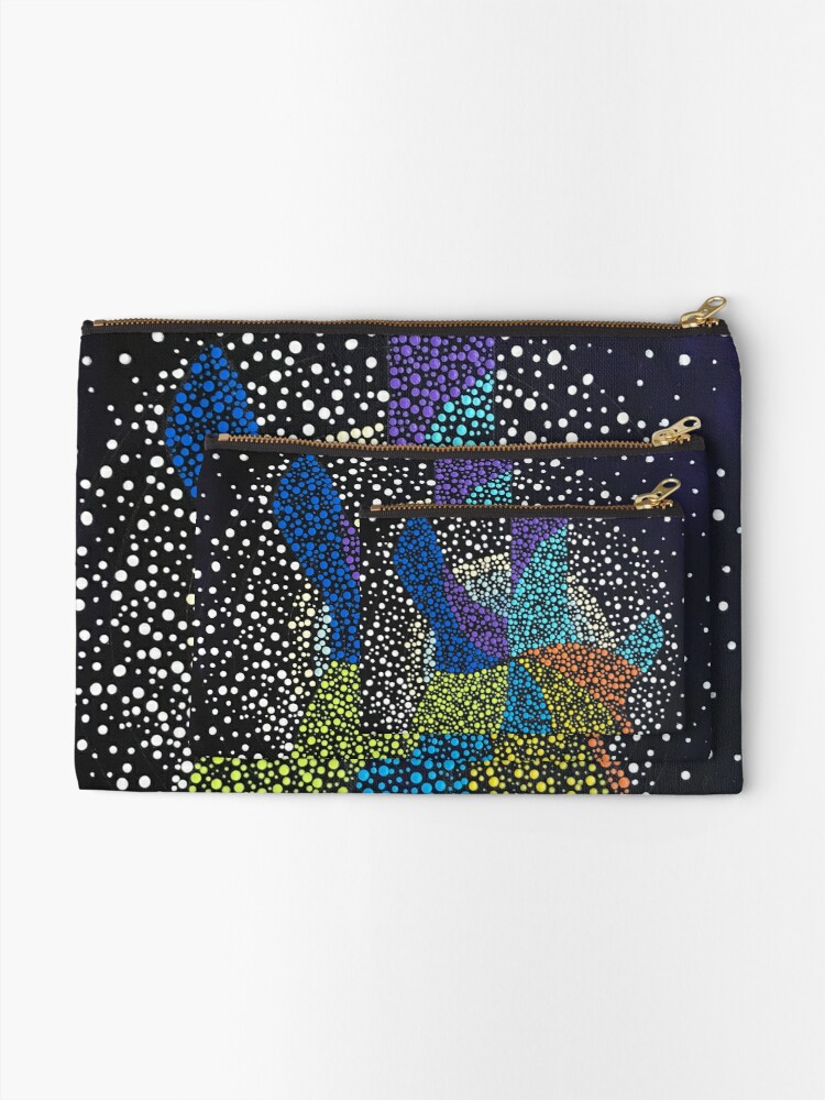 Alternate view of Let's Rock Zipper Pouch