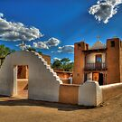 San Geronimo Church Taos Pueblo by K D Graves Photography