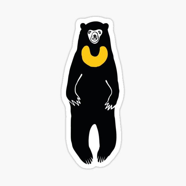 Malayan Sun Bear - Pattern 1 of 3 Sticker