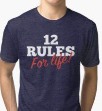 12 Regeln für das Leben Vintage T-Shirt