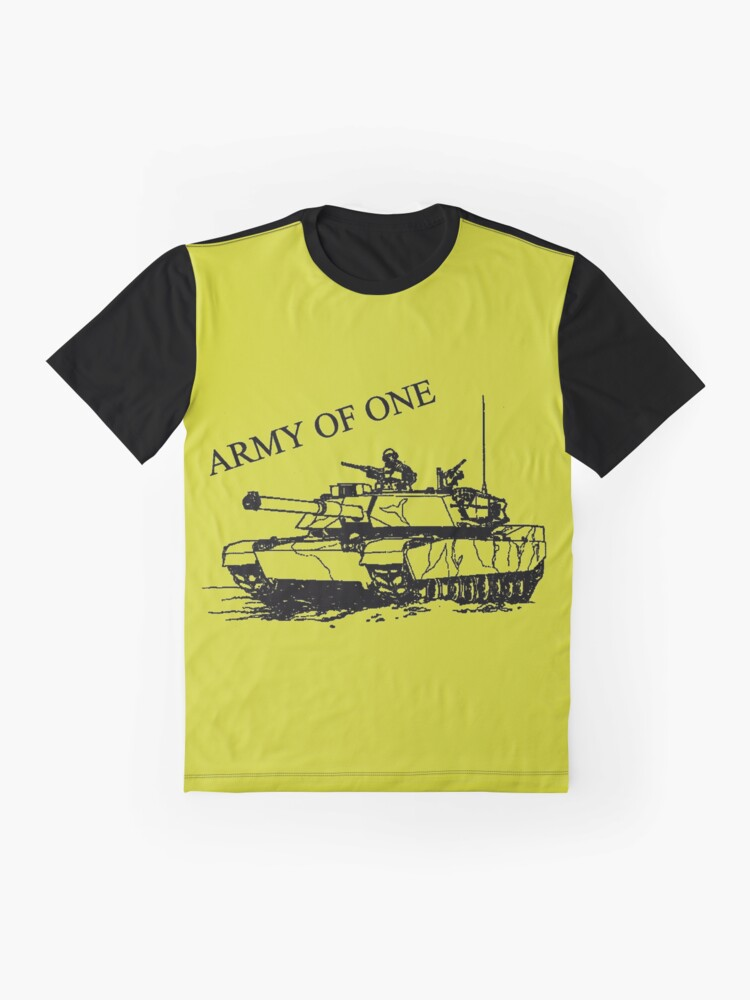 Alternate view of Army Of One Graphic T-Shirt