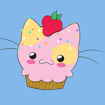 Cupcake Kitty by darthterry