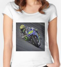 ngempot rossi Women's Fitted Scoop T-Shirt
