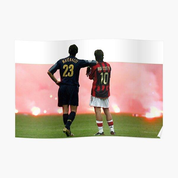 Materazzi - Rui Costa, 10-23 Poster