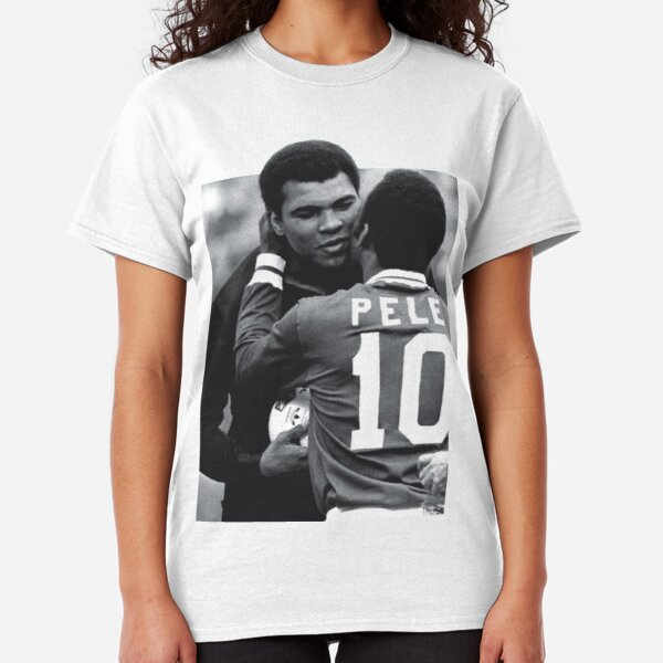 MUHAMMAD ALI  3 Poses T-shirt Boxing GOAT Greatest Mens Tee White New