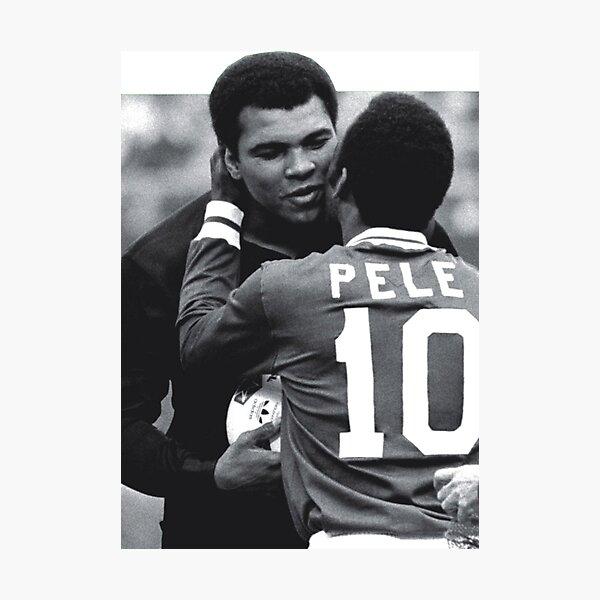 Pele, Muhammad Ali Photographic Print