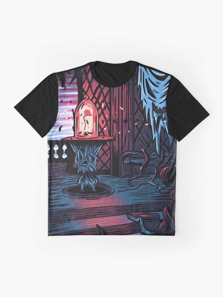 Alternative Ansicht von Der Verbotene Westen Flügel Grafik T-Shirt