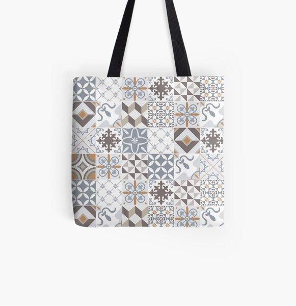 Azulejos Lisbon Portugal All Over Print Tote Bag