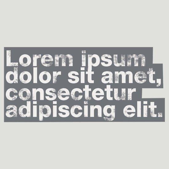 TShirtGifter presents: Lorem ipsum