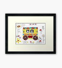 Gypsy Children Framed Print